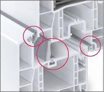 Paprastai energiškai efektyvių langų profiliuose dedamos ne dvi, bet trys sandarinimo juostos.