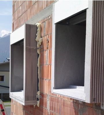 Taip atrodo specialūs rėmai pasyvaus lango montavimui izoliaciniame sluoksnyje